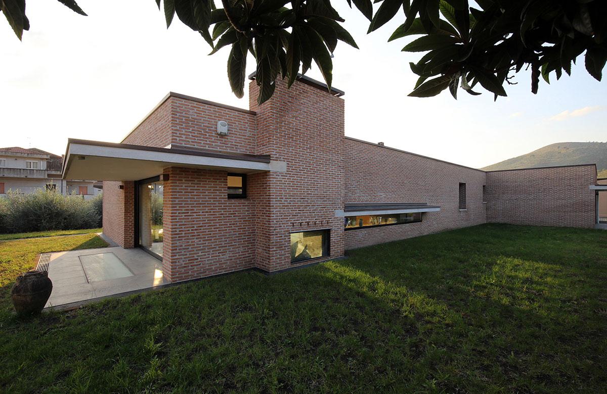 studio raffone associati architettura casa ioirio calvi risorta